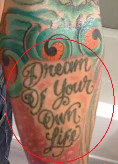 Anthony Ervin quote tattoo
