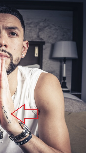 Austin Rivers Left hand Tattoo