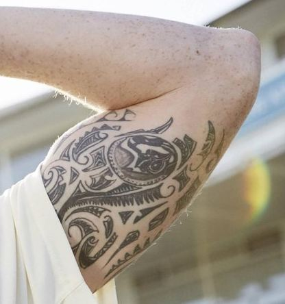 Ben Stokes Inner Arm Tattoo