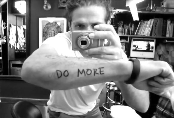 Casey Neistat DO MORE Tattoo