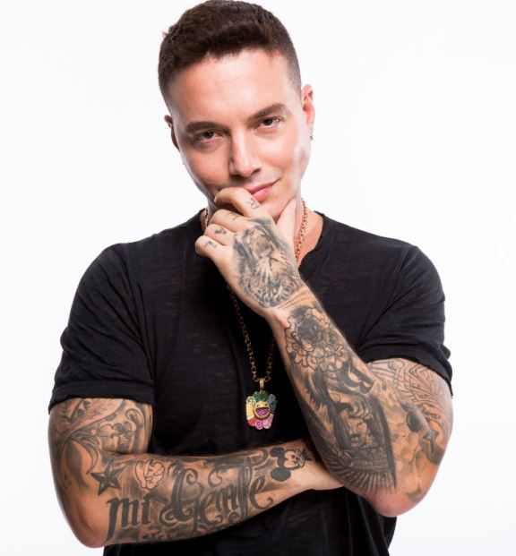 J Balvin Arm Tattoos