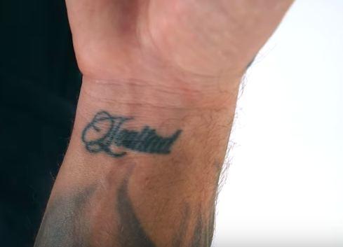 J Balvin Lealtad Tattoo