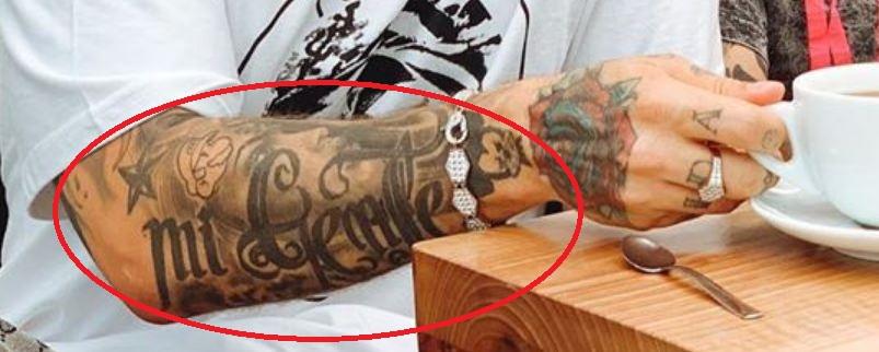 J Balvin Mi Gente Tattoo