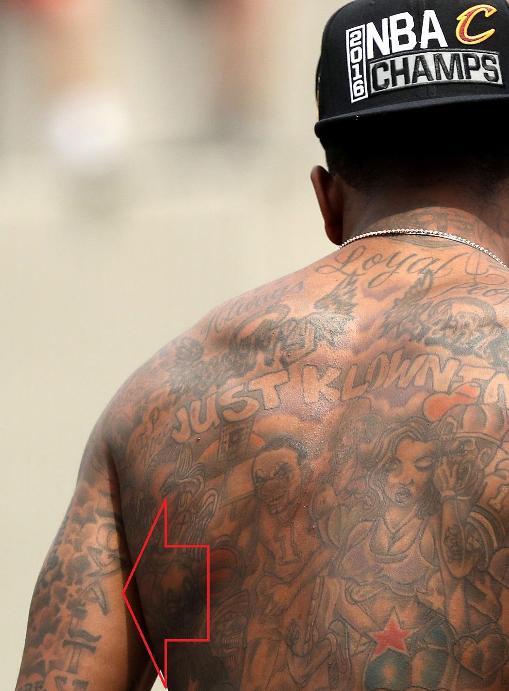 J.R Smith Left Arm Loyalty Tattoo