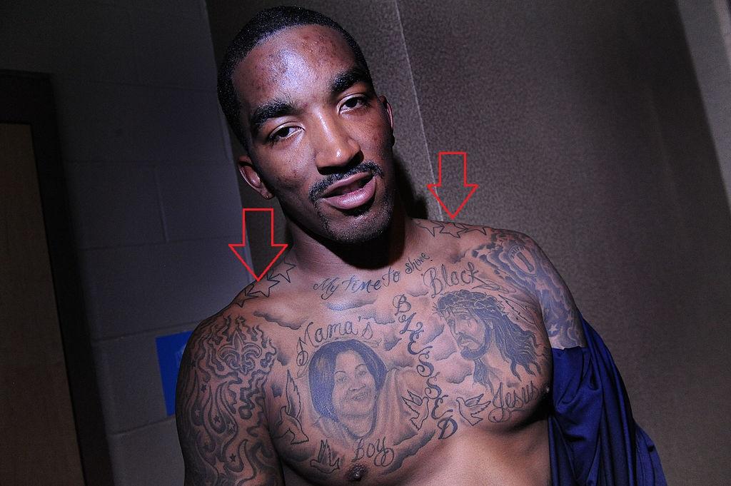 J.R. Smith Stars Tattoo