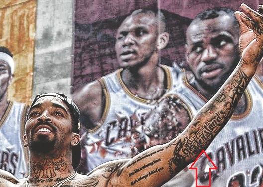 J.R.-Smith God Understands Tattoo