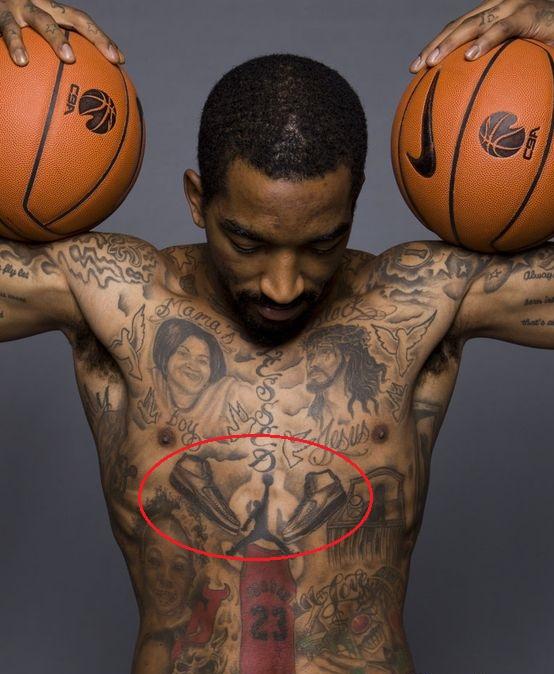 J.R. Smith Jordan Tattoo