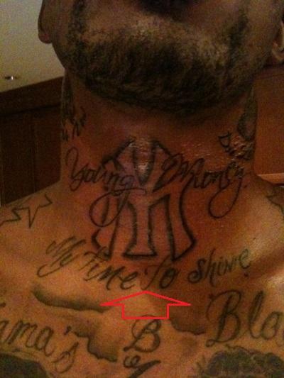 J.R. Smith My Time To Shine Tattoo