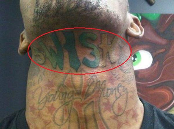 J.R. Smith Swish Tattoo
