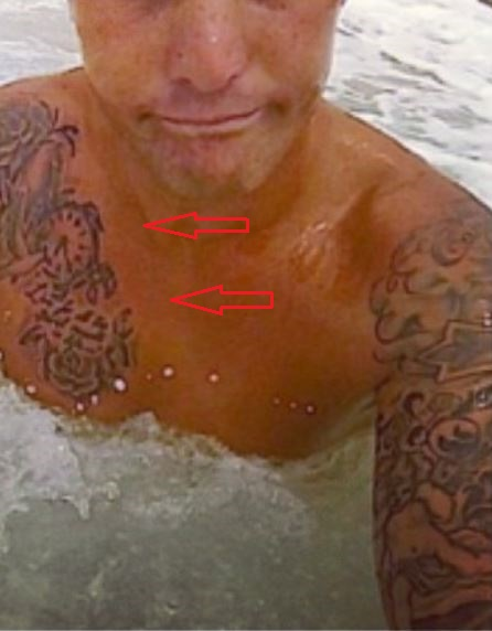 Jason Roy clock tattoo2