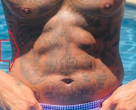Jeremy Lamb Right Abdomen Tattoo
