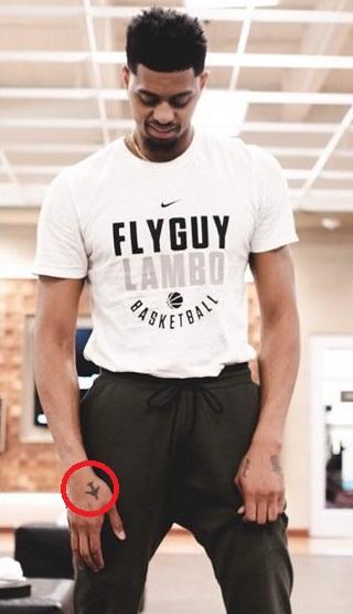 Jeremy Lamb Right Arm Flight Tattoo
