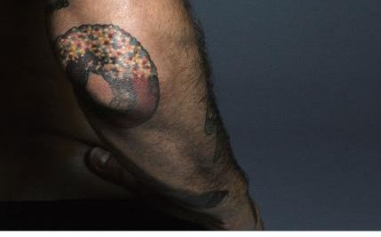 Marc Jacobs Donut Tattoo