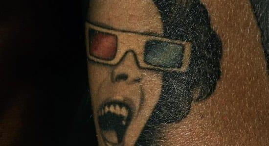 Marc Jacobs Elizabeth Taylor Tattoo