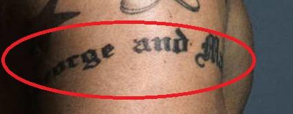 Marc Jacobs George and Martha Tattoo