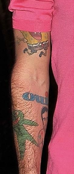 Marc Jacobs qui Tattoo