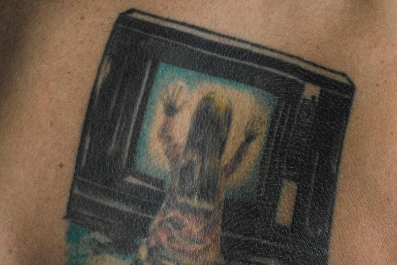Marc Poltergeist Tattoo