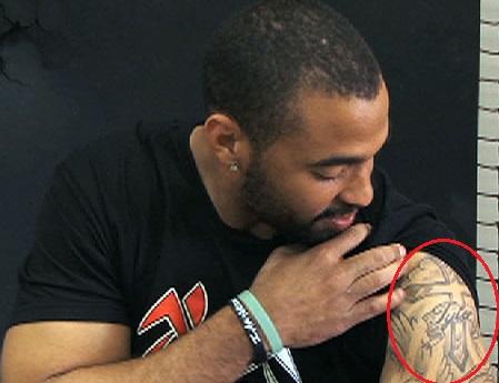 Matt Kemp Left Arm Shoulder Tattoo