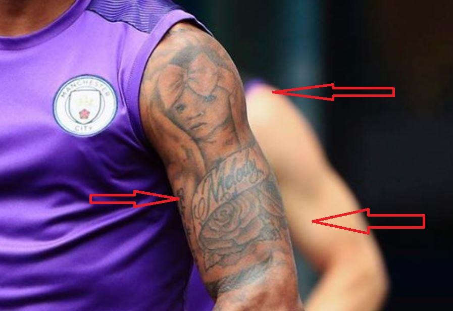 Raheem Sterling S 14 Tattoos Their Meanings Body Art Guru
