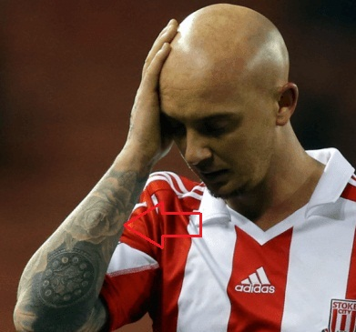 Stephen Ireland Right Arm Rose Tattoo