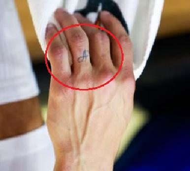 Stephen Curry A tattoo