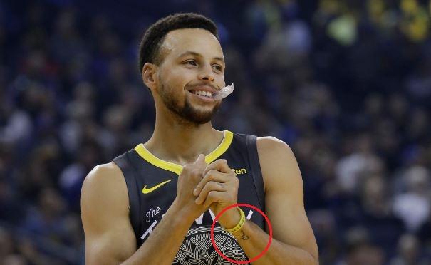 Stephen Curry name tattoo