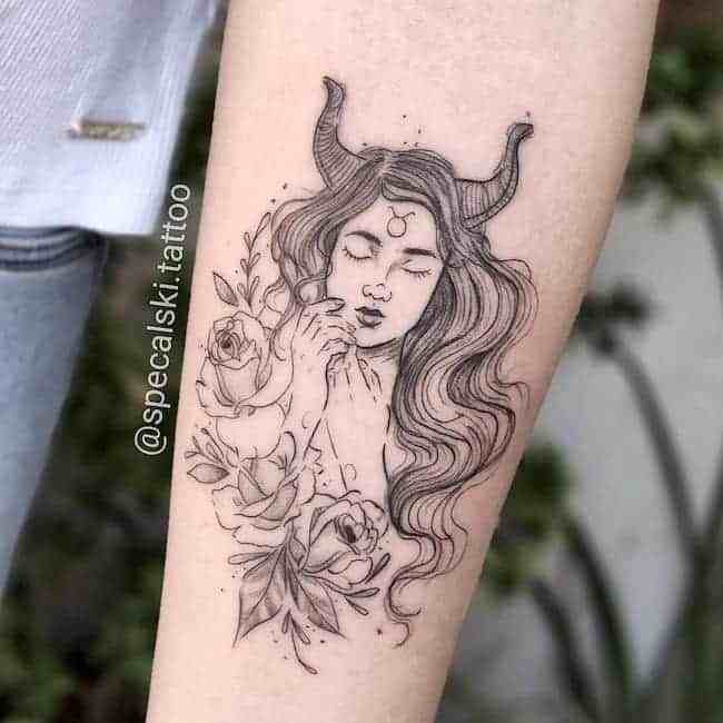 Taurus Tattoos: 50+ Designs with Meanings and Ideas – Body ...