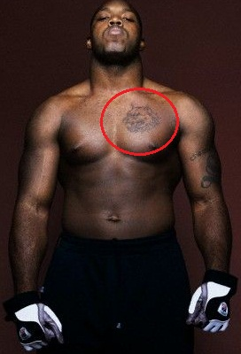 Terrell Suggs Chest Tattoo
