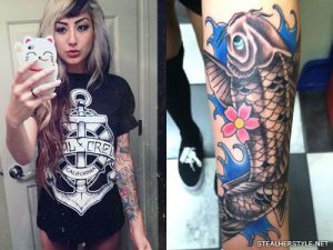 Allisson Green tattoo