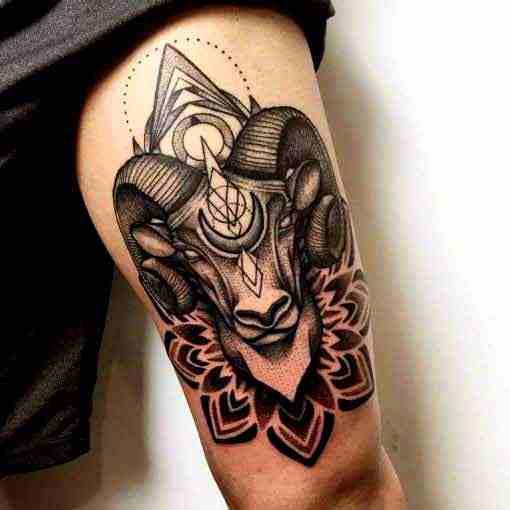 Aries Tattoos 50 Designs With Meanings Ideas Body Art Guru