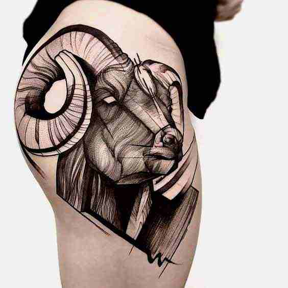 Aries Tattoos: 50+ Designs with Meanings, Ideas – Body Art ...