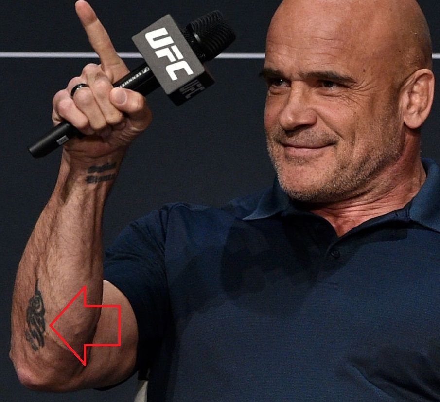 Bas Rutten Right ArmTattoo