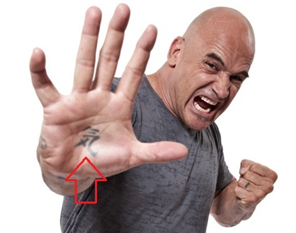 Bas Rutten Right Hand Palm Tattoo.jpg1