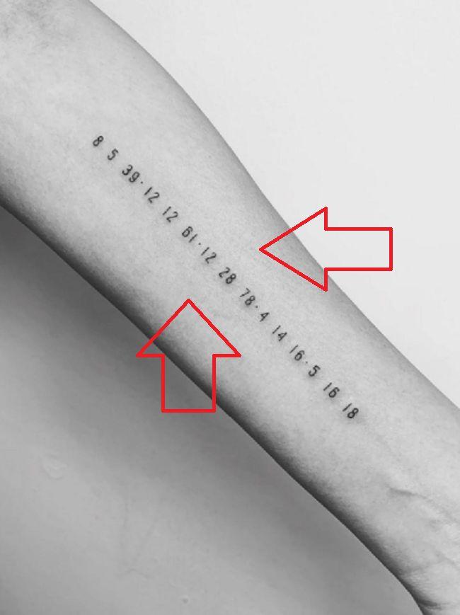 Birthdates-tattoo-Chrissy Teigen