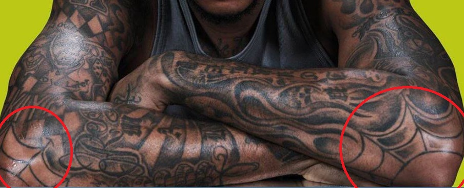 Carmelo Anthony Arm Tattoos
