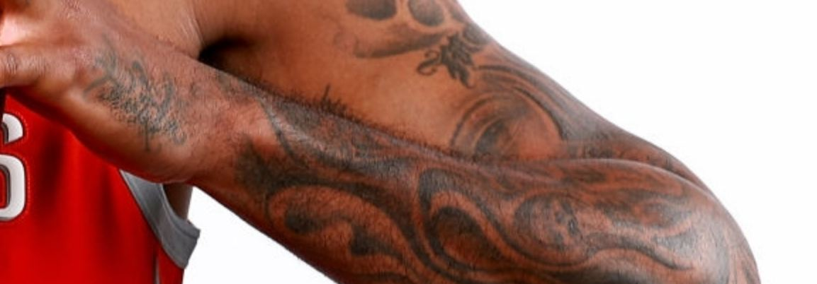 Carmelo Anthony Tribal Tattoo