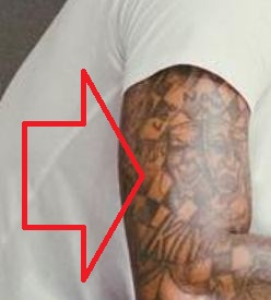 Carmelo Chessboard Design Tattoo