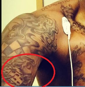 Carmelo Dice Tattoo