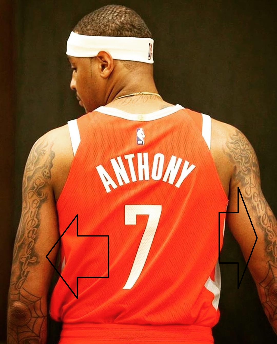 Carmelo Loyalty and Honesty Tattoo