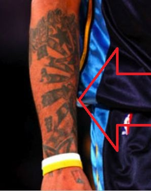 Carmelo Tribal Tattoo
