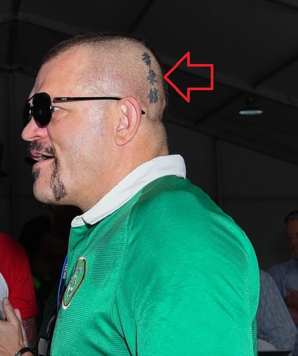 Chucl Liddle Head Tattoo