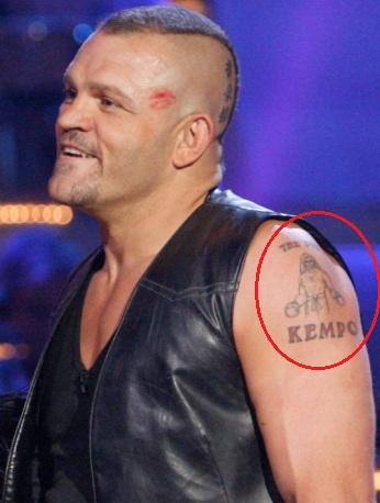 Chucl Liddle Left Arm Tattoo