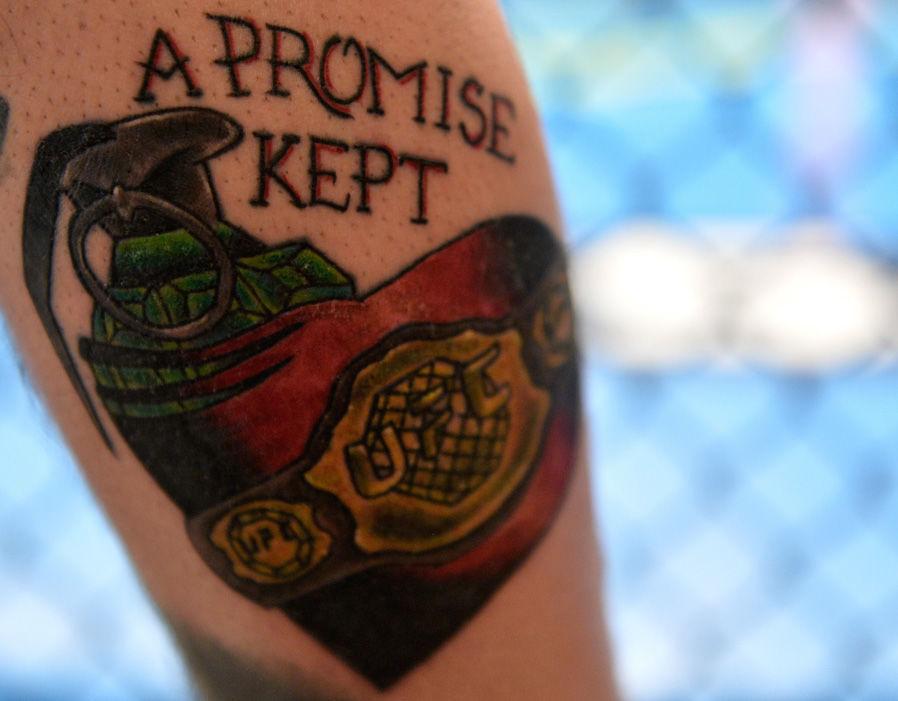 Cody Garbrandt A Promise Kept Tattoo