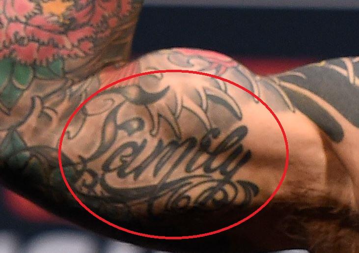 Cody Garbrandt Family Tattoo