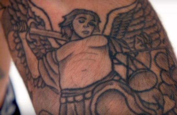 Cody Garbrandt Lady Tattoo