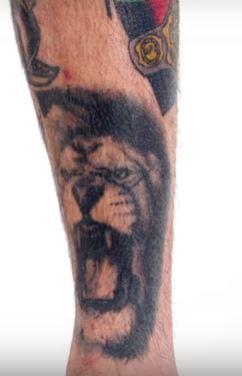 Cody Garbrandt Left Leg Tattoo