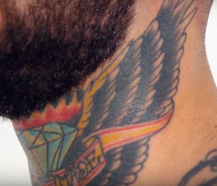 Cody Garbrandt SELF MADE Tattoo