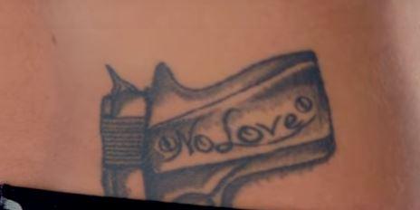 Cody Garbrandt No Love Tattoo