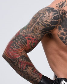 Cody Japanese Arm Tattoo