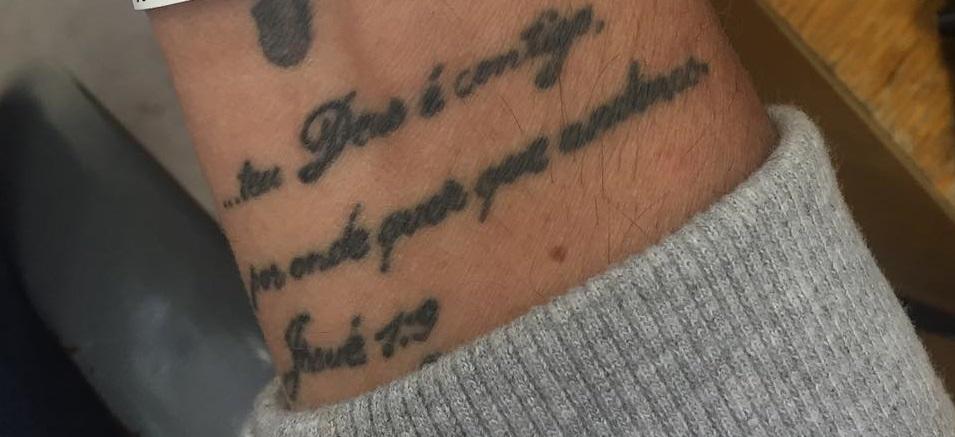 CrisCybrog Right Wrist Tattoo